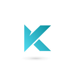 Letter k logo icon design template elements vector