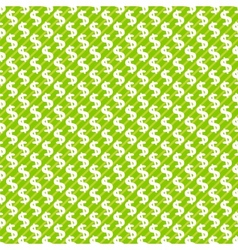 Dollar sign abstract seamless pattern background vector image