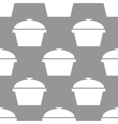 Pan seamless pattern vector