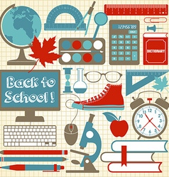 school vector image