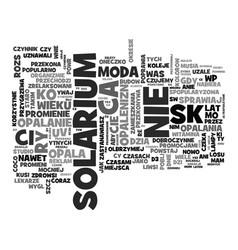 Eurosun lampy do solarium text background word vector