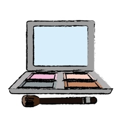 Makeup and cosmetic design vector