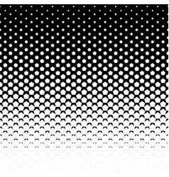 pentagon halftone background vector image vector image