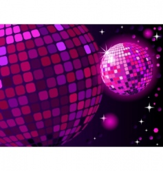 Celebratory disco ball vector