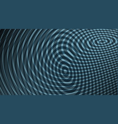 Background with geometric halftone design vector