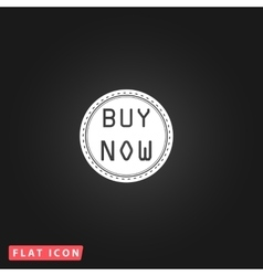 Buy Now Icon vector image vector image
