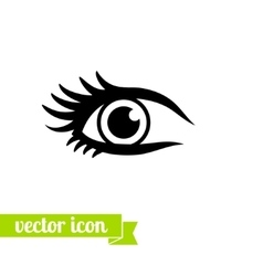 Eye icon 13 vector image vector image