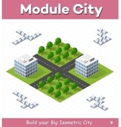 Urban module vector