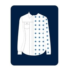 Womens shirt vector