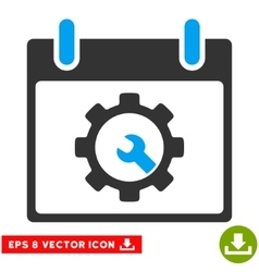 Options tools calendar day eps icon vector