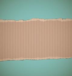 cardboard Stock vector image vector image
