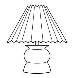 decorative lamp vector image