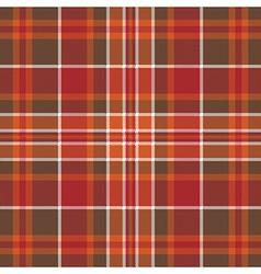 Orange brown check pixel square seamless pattern vector image