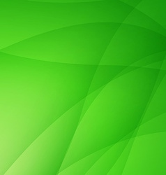 Abstract green background with wave vector