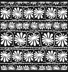 abstract floral background seamless pattern for vector image vector image