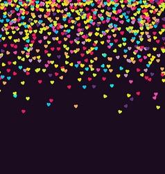 Confetti vector image vector image