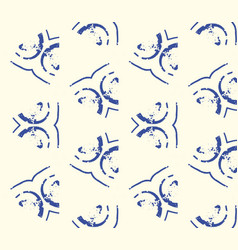 Minimalistic ethnic seamless pattern vector