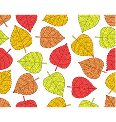 Plant leaves pattern vector