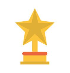 star trophy icon imag vector image vector image