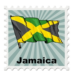 National day of jamaica vector