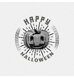 Happy halloween badges logos and labels for any vector
