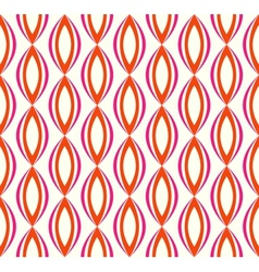 Abstract seamless retro pattern vector