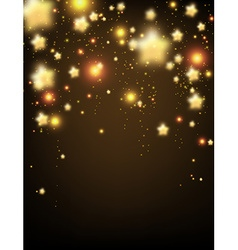 Background with stars vector