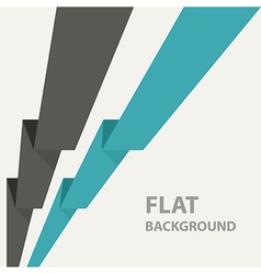 flat background 6 vector image