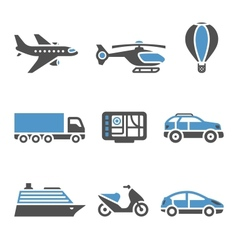 Transport Icons - A set of second vector image