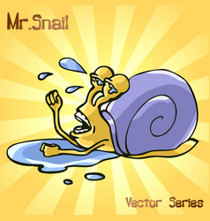 Mr snail with failure vector