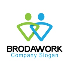 Broda work design vector