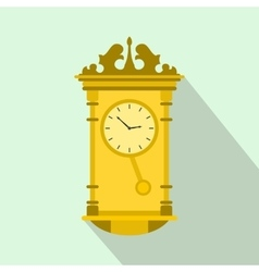 Watch icon flat style vector