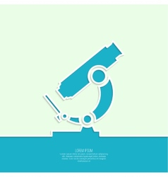 Icon microscope vector