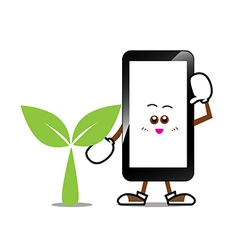 Mobile phone Smart phone vector image vector image