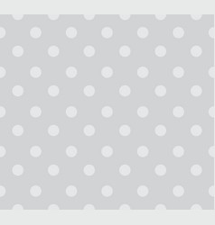 Seamless polka dots pattern background vector
