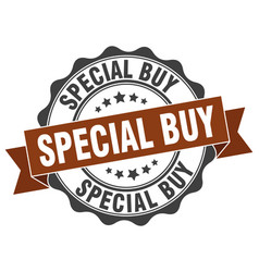 special buy stamp sign seal vector image vector image
