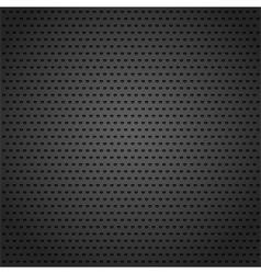 Black Metal Background vector image