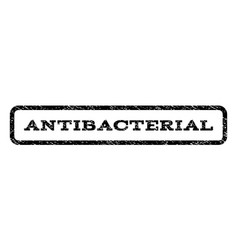 Antibacterial watermark stamp vector