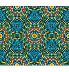 festive geometric star seamless pattern vector image vector image