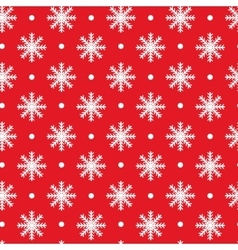 Seamless Christmas pattern Scrapbook New Year vector image