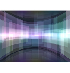 Abstract background with curved rectangulars vector
