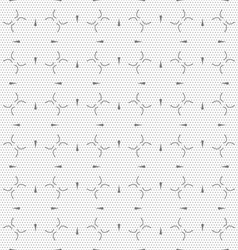 Dot textured pattern with small gray details vector