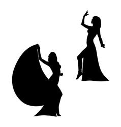 Eastern dance vector image