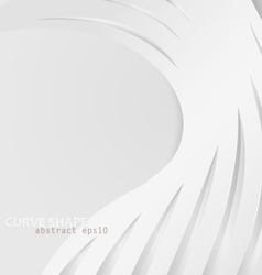 Abstract curve shape vector