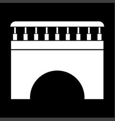 bridge it is icon vector image