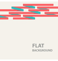 flat background 7 vector image