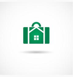 housebag icon vector image vector image
