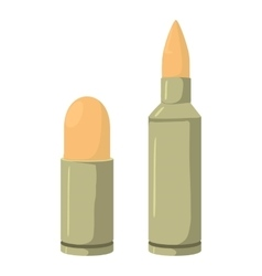 Cartridge icon cartoon style vector