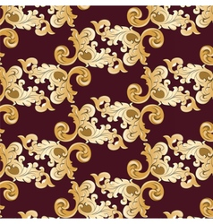 Royal ornament element pattern vector
