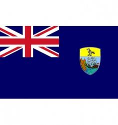 Saint Helena flag vector image vector image